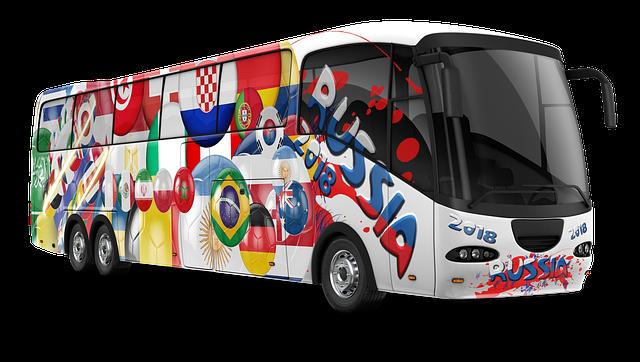 Viajando en autobús por Rusia